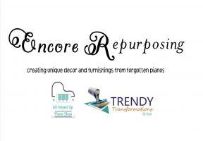Encore Repurposing Logo Business Card